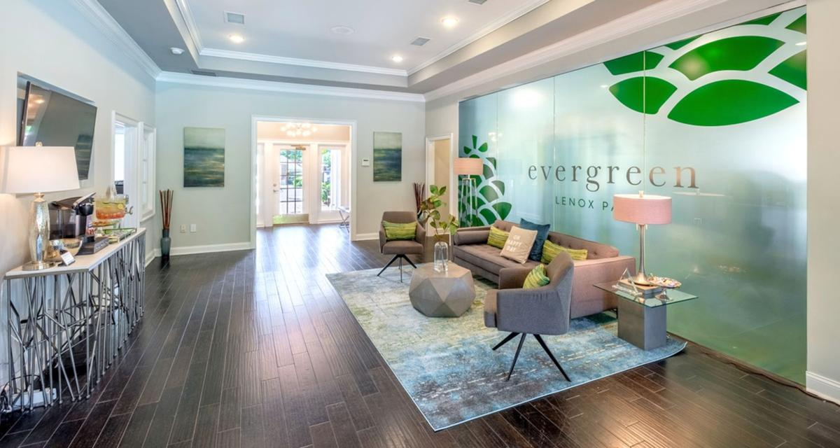 020520_MNS_Evergreen_Lenox_002 leasing office lobby