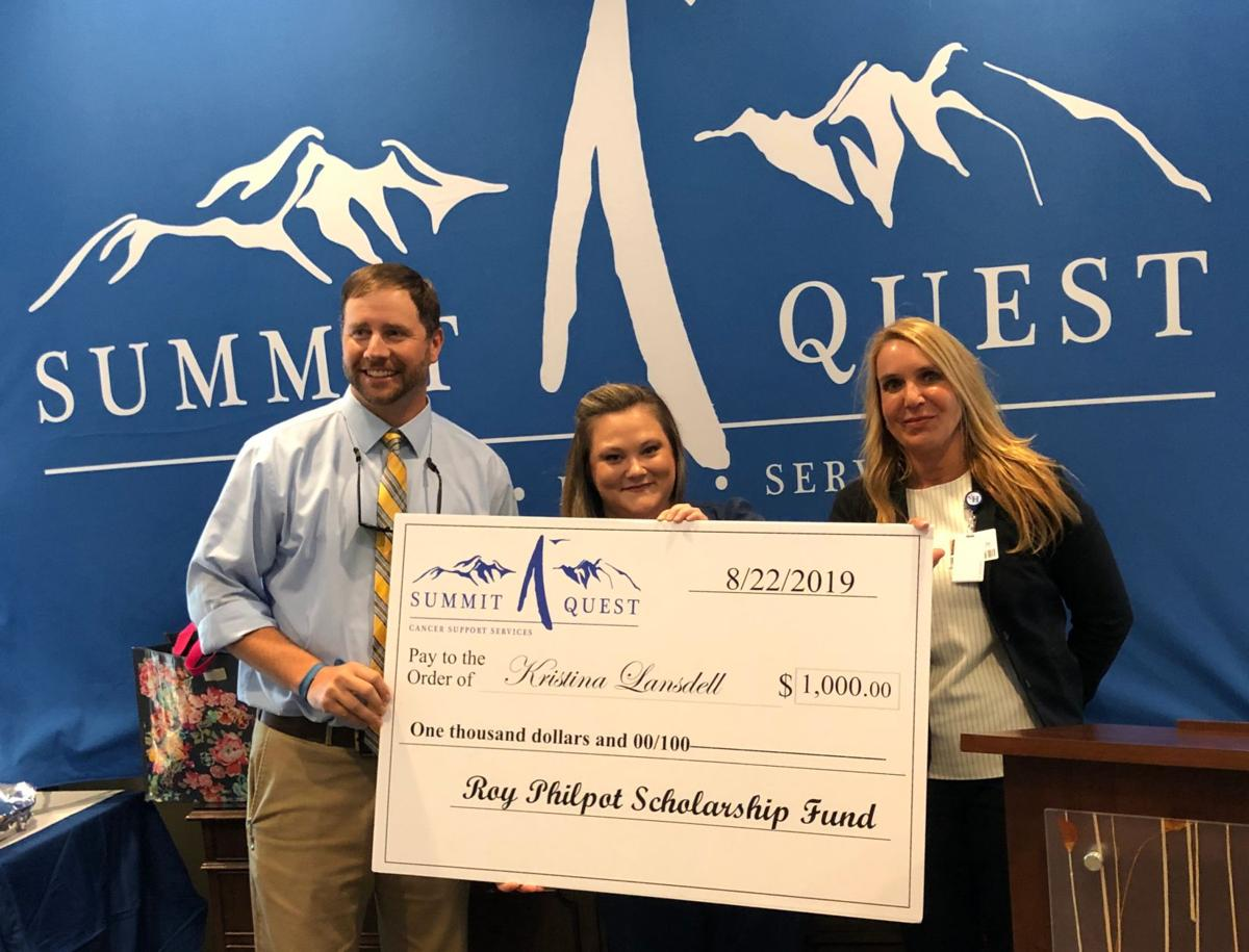 Cancer patient receives scholarship from Summit Quest