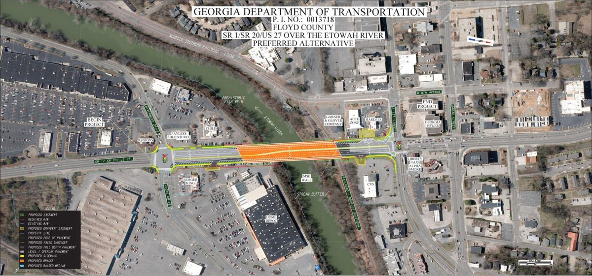 GDOT to unveil Turner McCall bridge plans at January open house