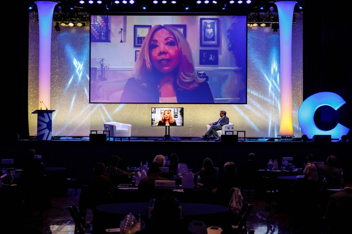 Lucy McBath at Chamber