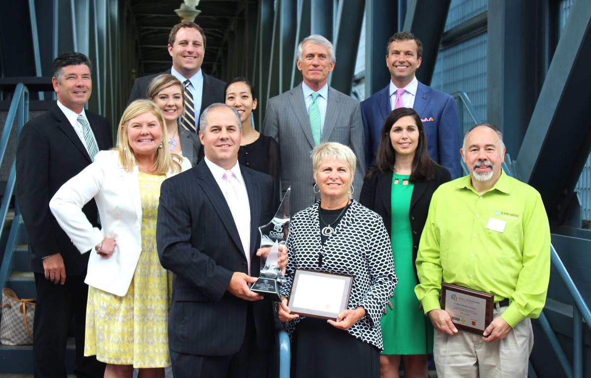Gaskins Surveying Earns Cobb Chambers Small Business Of The Year Award