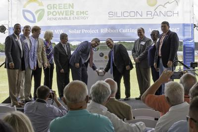 Solar Dedication with Rep. Don Parsons