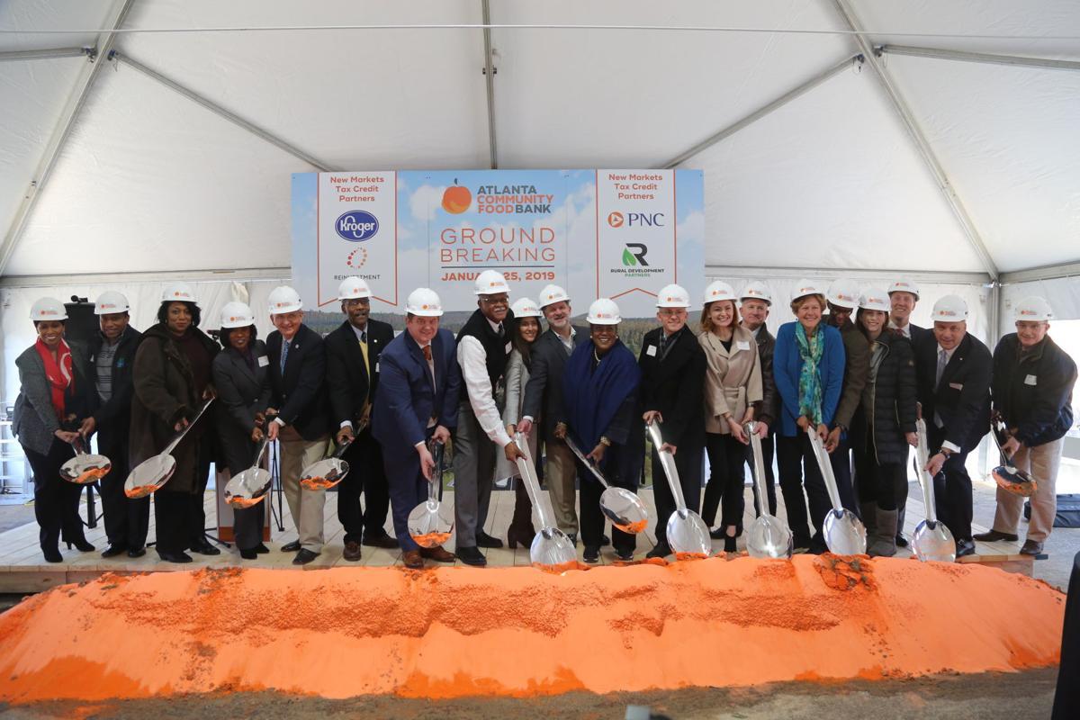 Atlanta Community Food Bank breaks ground on new East Point