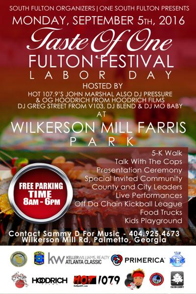 Taste of One Fulton flyer
