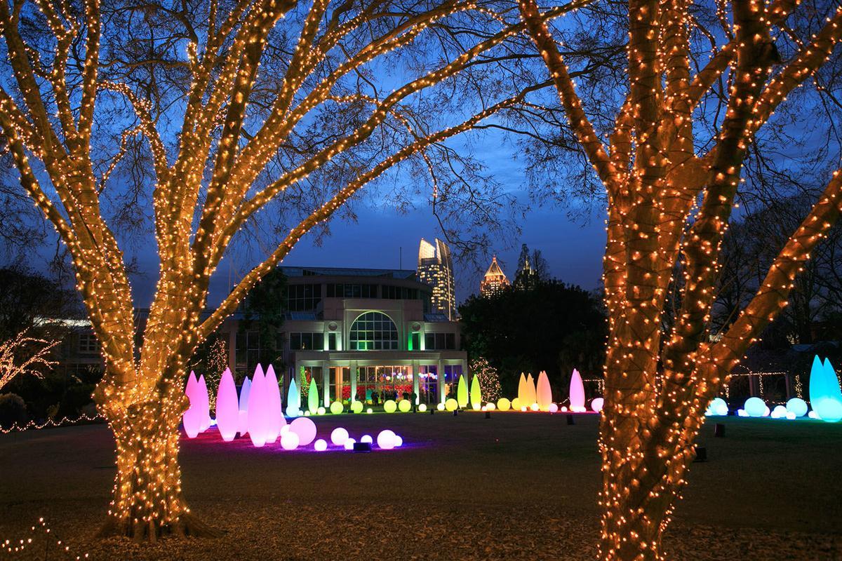 Expanded light show highlights Atlanta Botanical Garden\'s holiday ...