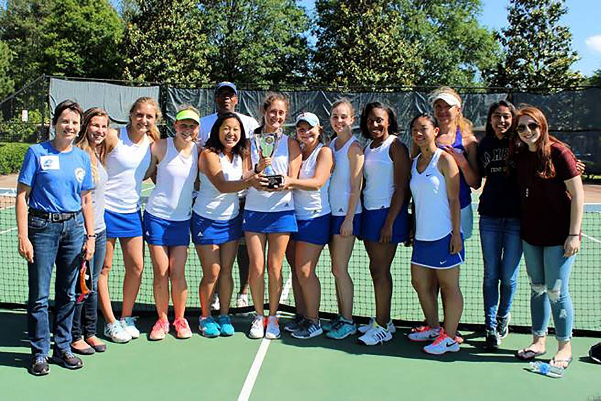 Chamblee girls tennis state title