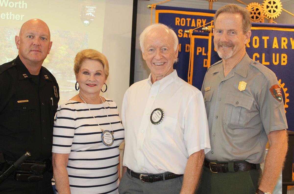 082819_MNS_Rotary_Cox_003 Mike Lindstrom Nancy Schroeder Malcolm Kilpatrick Bill Cox