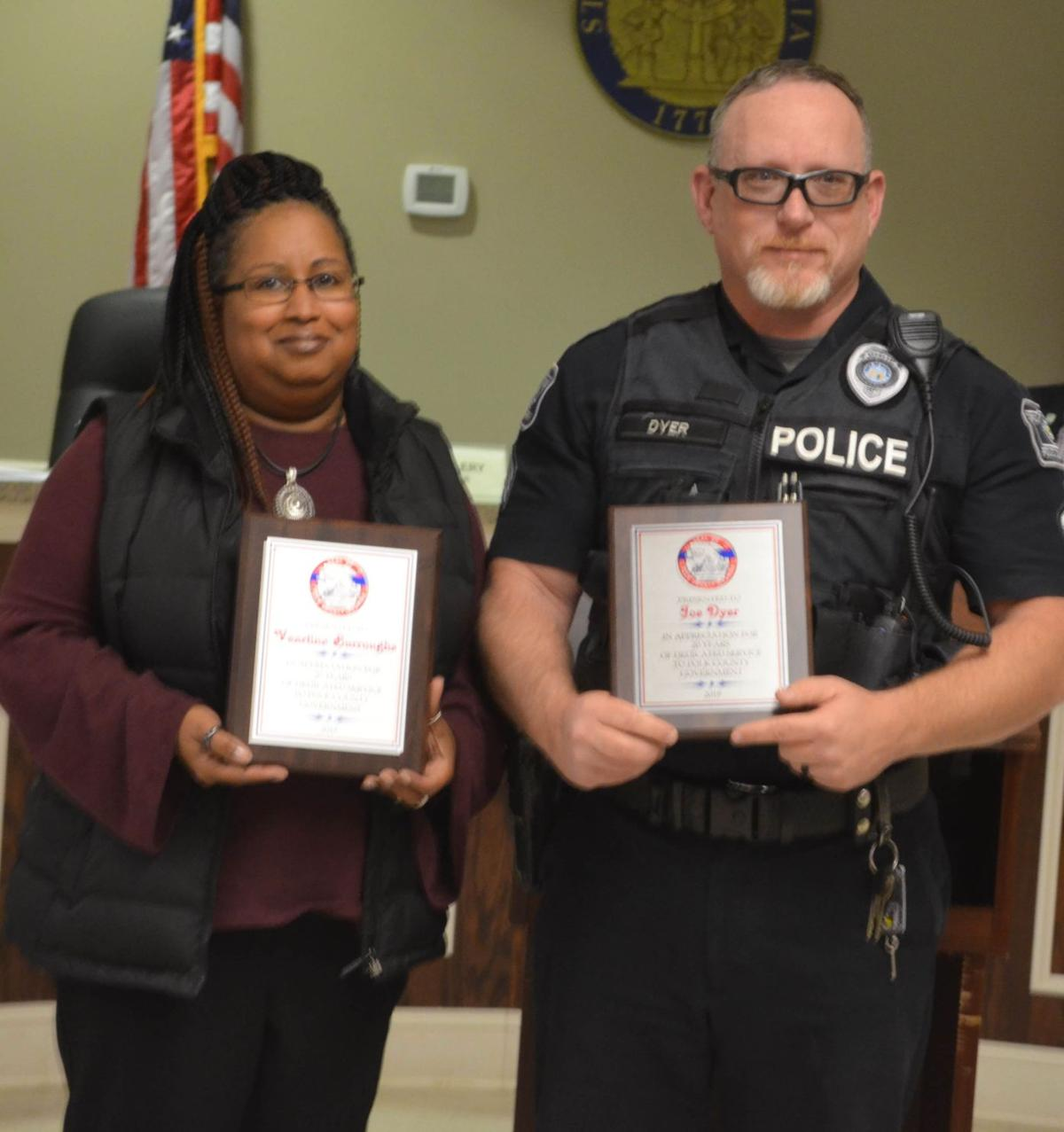 Polk County Commission Employee Longevity Awards November 2019