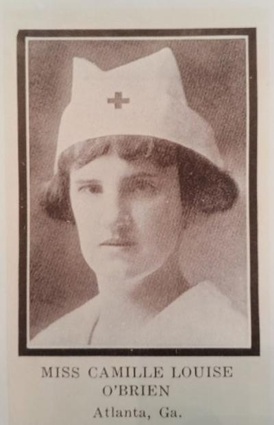 Hero Nurse Camille O'Brien