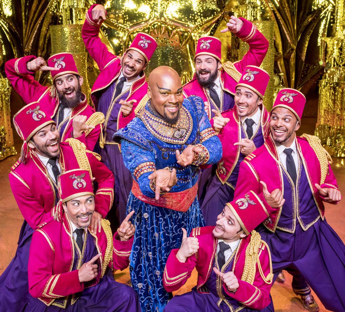 Aladdin 3 Michael James Scott (Genie)