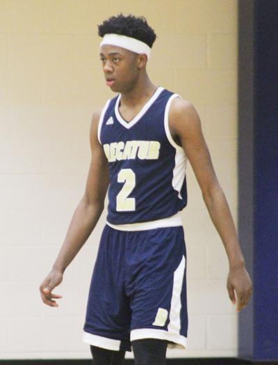Decatur basketball Chalin Hippe
