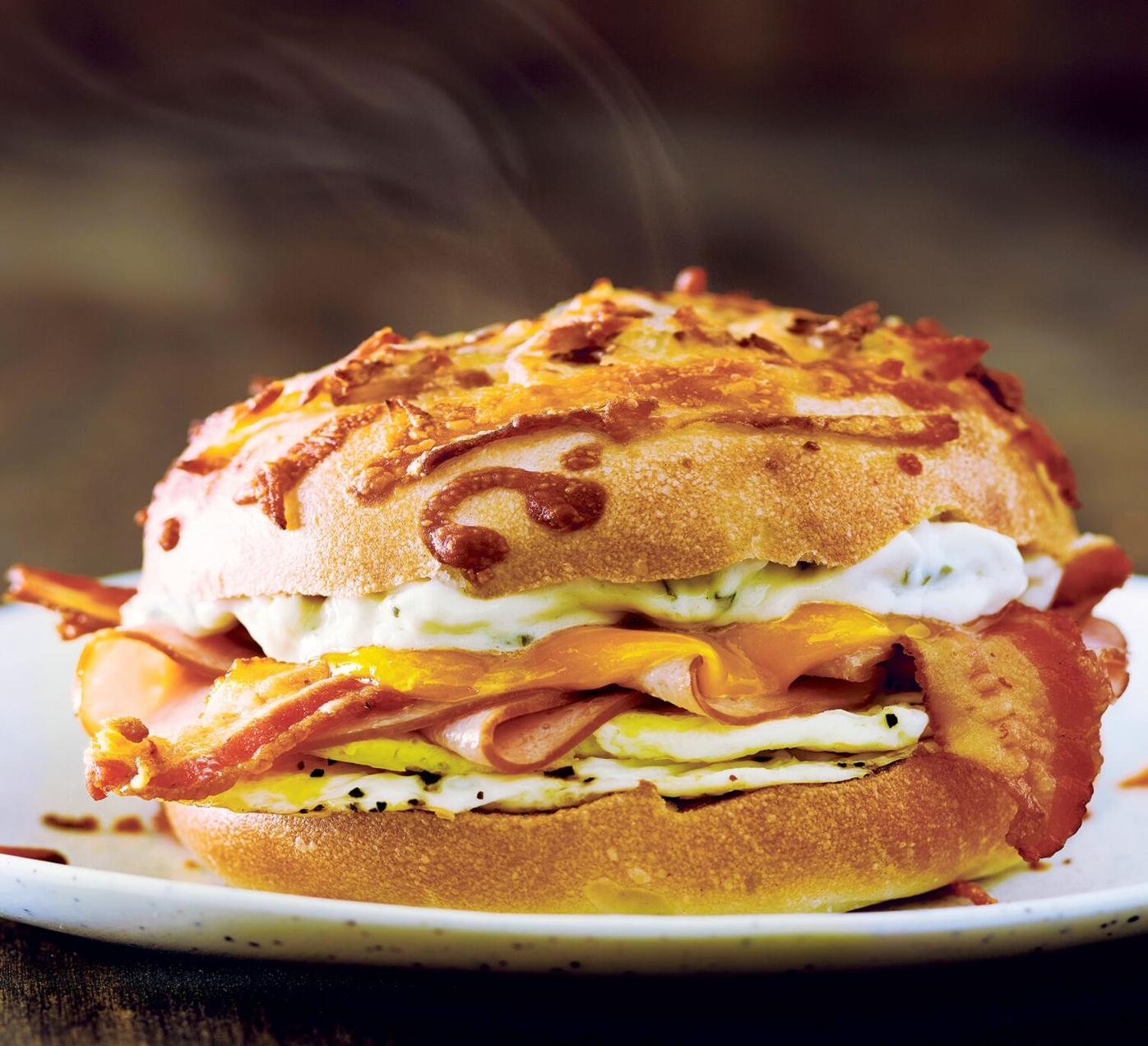 011321_MNS_Bagel_Day_001 The Farmhouse bagel sandwich