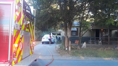 Flannery Street fire quickly doused