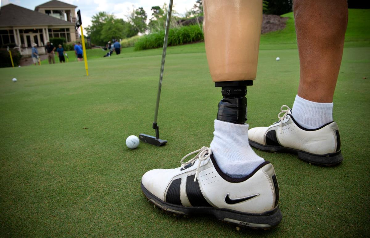 Fore' the veterans: Golf clinic teaches helps former service members