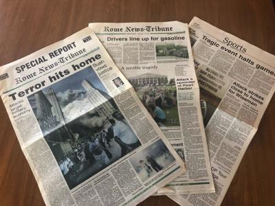 Rome News-Tribune 9/11 special edition 2001