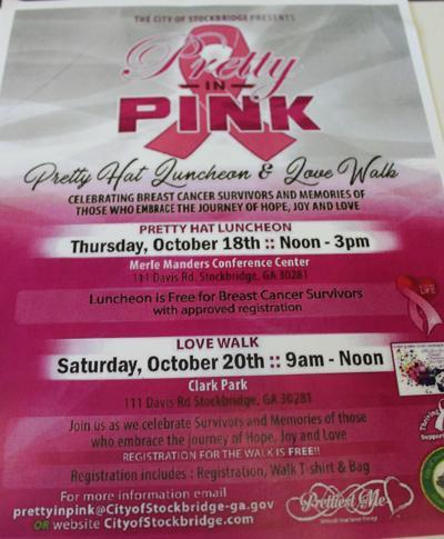 Stockbridge Pretty in Pink events flyer