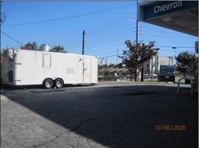 REEF Kitchens trailer