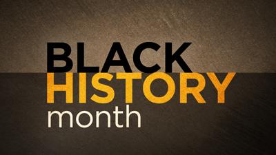 Black History Month graphic Stockbridge