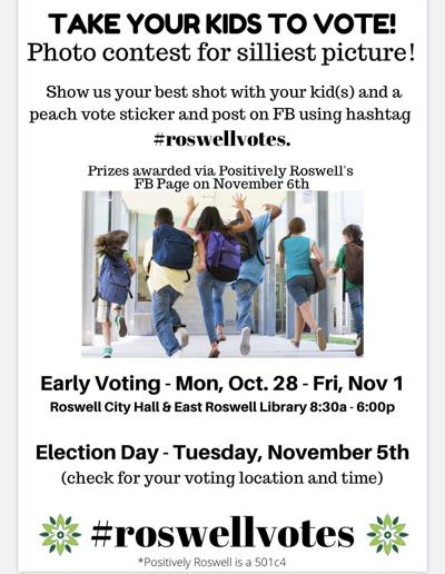 roswell votes flyer