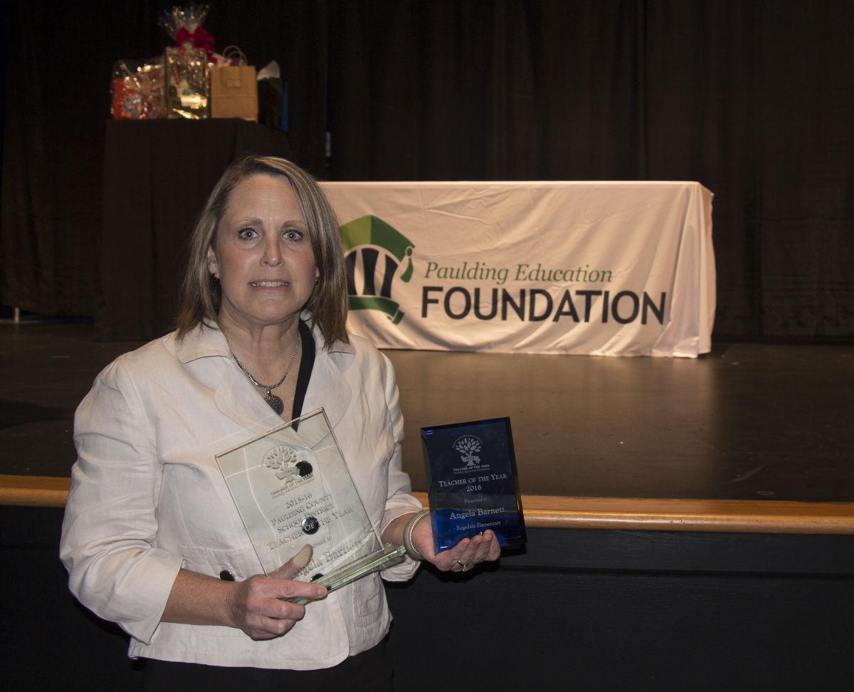 Fourth-grade teacher Barnett named Paulding Teacher of the Year | West  Georgia Neighbor | mdjonline.com