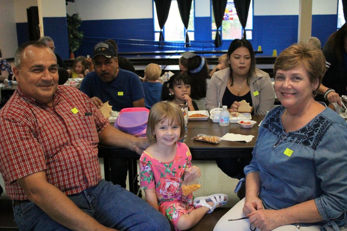 Steve and Tammy Moraitakis and grandchild Olivia