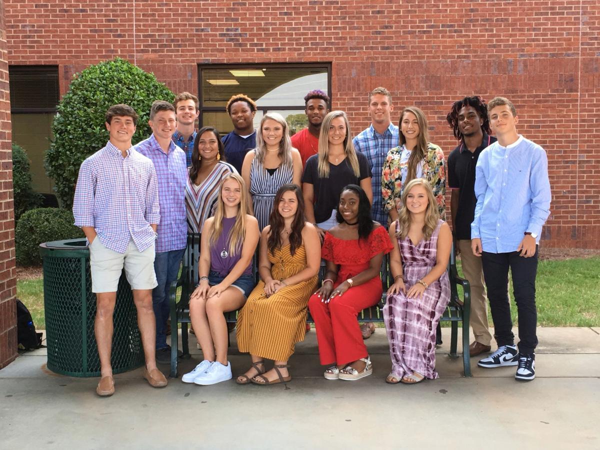 Rockmart High School Homecoming Senior Court 2019