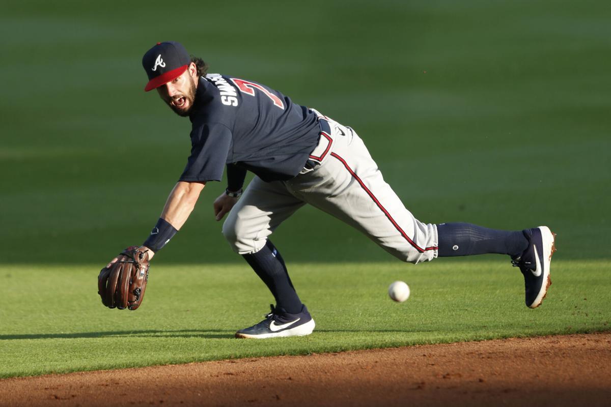 Braves Baseball_Dansby_Fielding