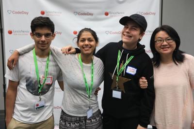 Local students join programming competition at CodeDay Atlanta