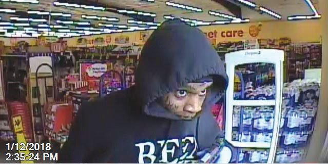Robbery suspects 2 second suspect