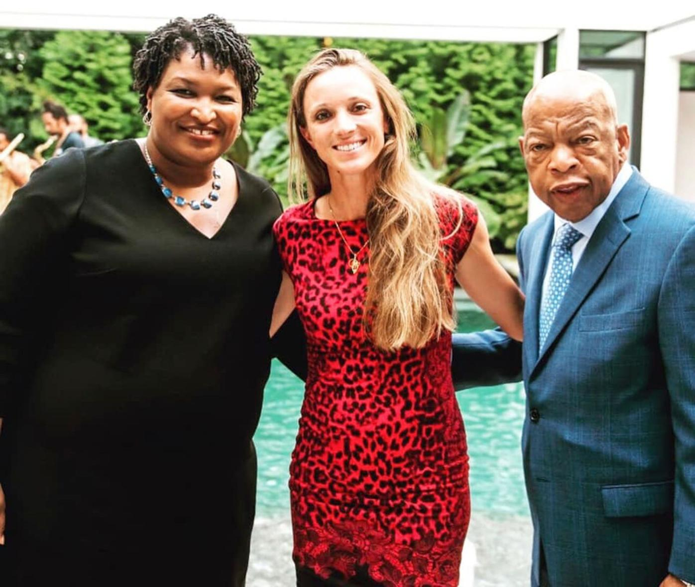 051519_MNS_tennis_contract_001 Amy Pazahanick Stacey Abrams John Lewis
