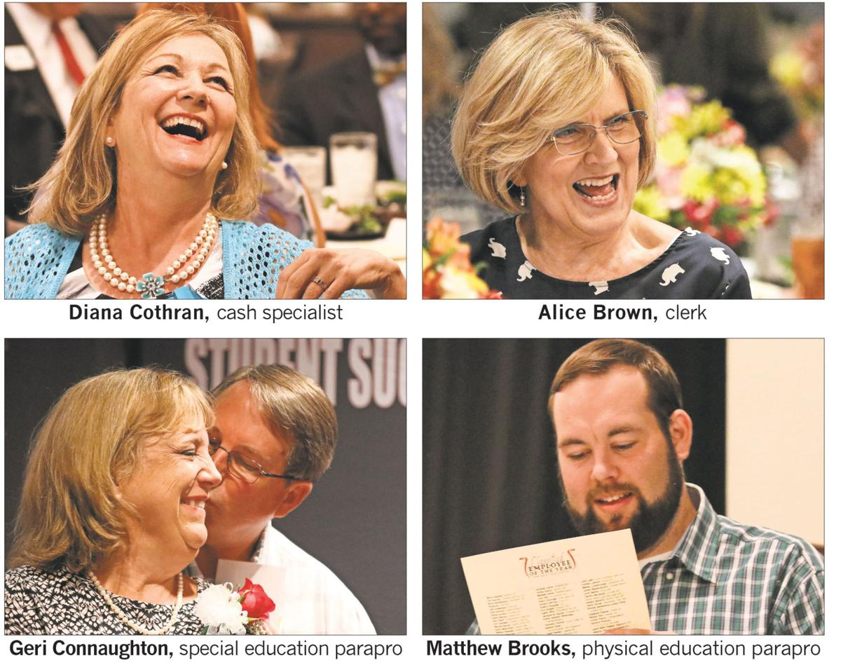 Cobb school district honors top employees at luncheon