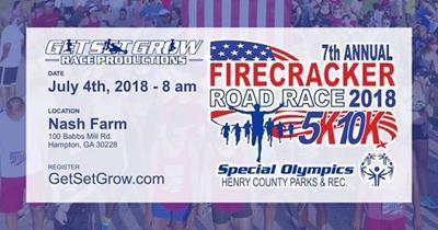 Firecracker Road Race graphic
