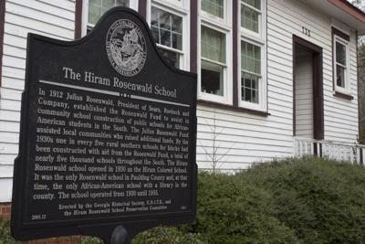 Hiram Rosenwald sign