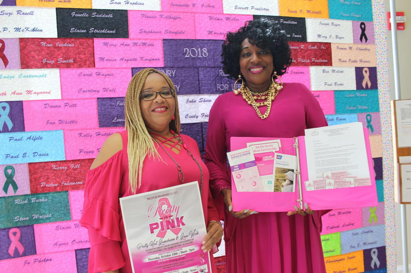 Cie Cie Wilson McGhee and Rhonda Williams