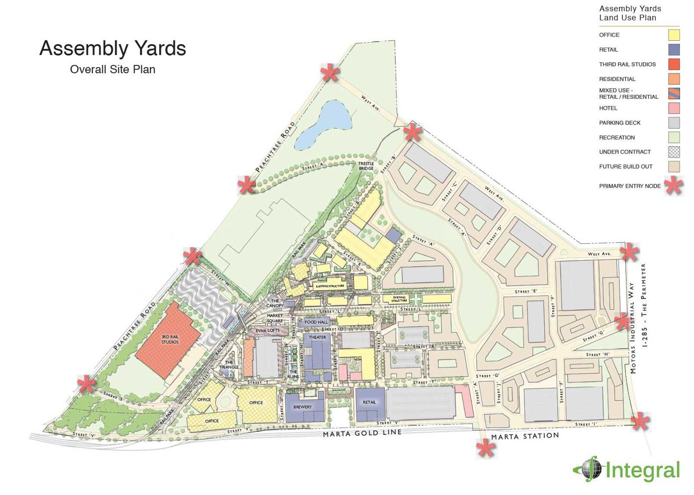 Assembly Yards master plan