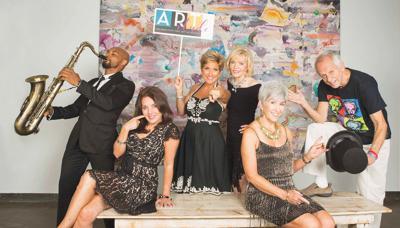 ARTitude 1 Anton Harris Danielle Houret-Lan Elaine LaMontagne Shirley Jones Donna Shafer Jerry Farber