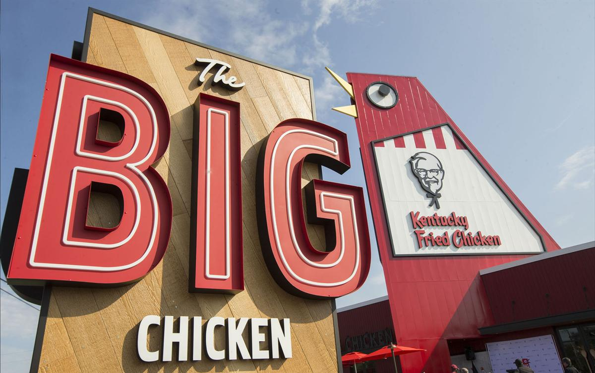 Marietta S Big Chicken Reopens With Red Carpet Event