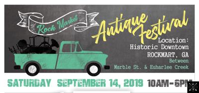 Inaugural Rock Market Antiques Festival is coming up on Sept