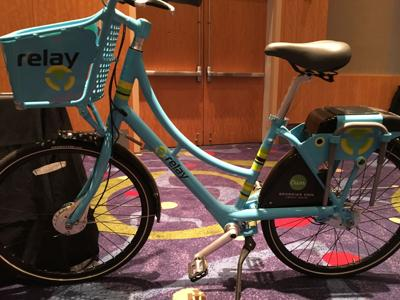 Relay bike share model