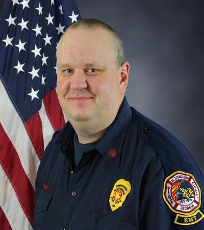 Firefighter John Kevin Cash