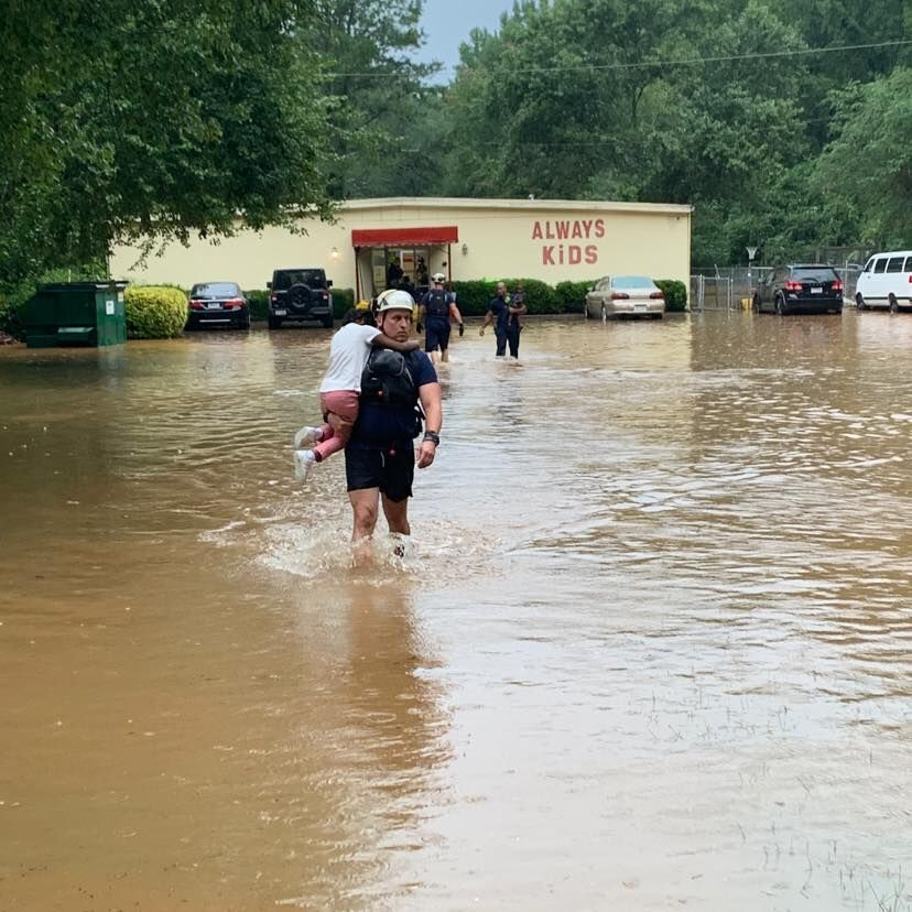 Always Kids Child Care Center flooded