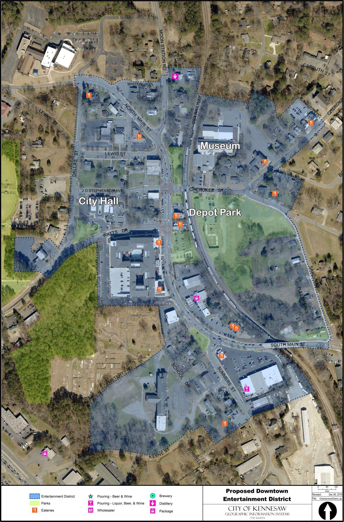 Kennesaw entertainment district main map.jpg