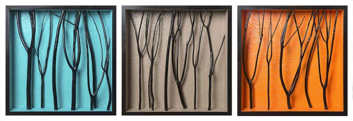 Chastain arts fest 3 (Modern Triptych)