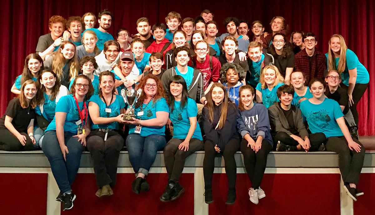 Galloway one-act play champs group