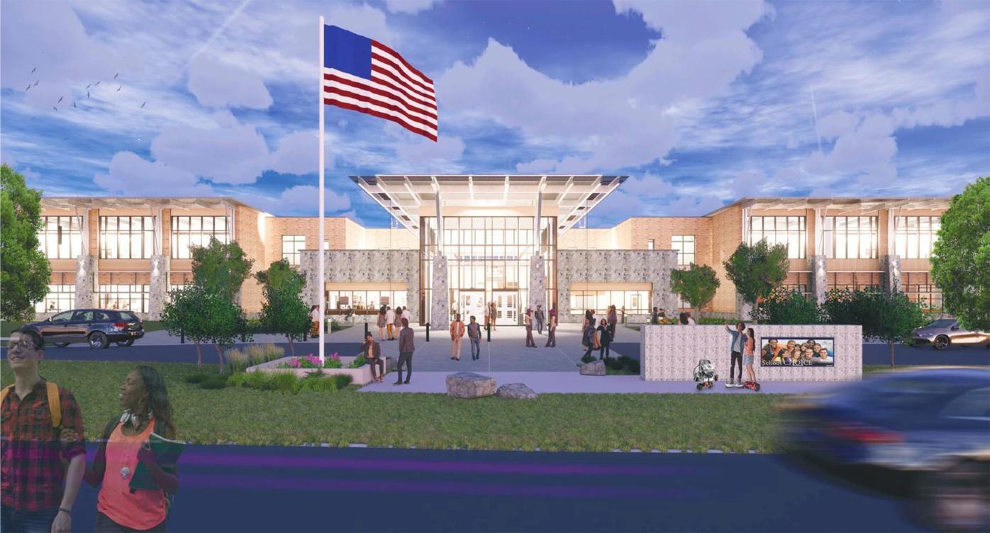 120419_MNS_STEM_kickoff_002 South Fulton STEM School rendering