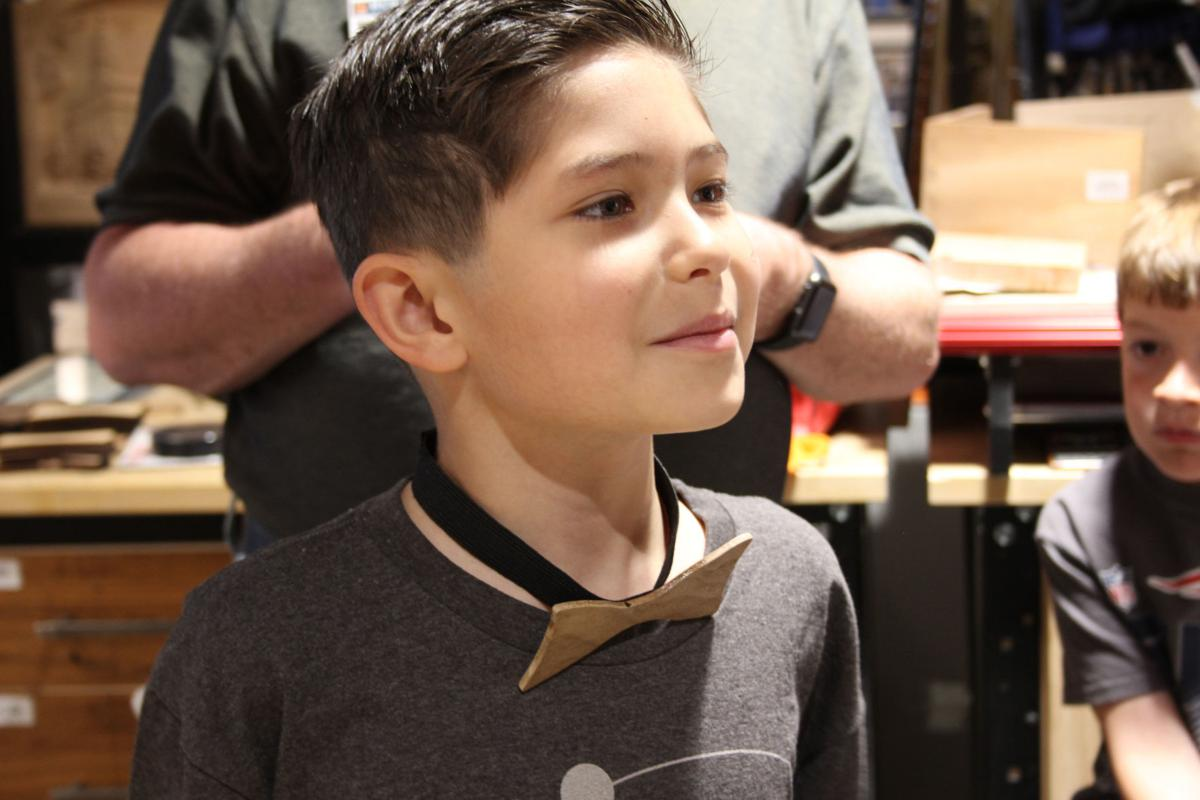 Local Woodworking Shop Lets Kids Make Gifts For Dad News