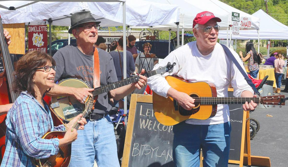 Farmers market 1 Bitsyland String Band