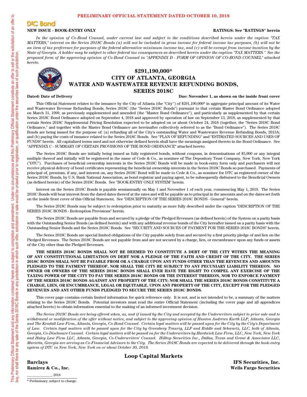 2018 complete preliminary bond document