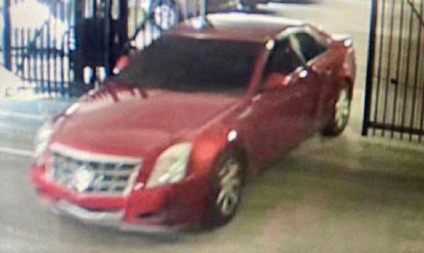 032421_MNS_BK_DC_robber_003 suspect vehicle red Cadillac CTS
