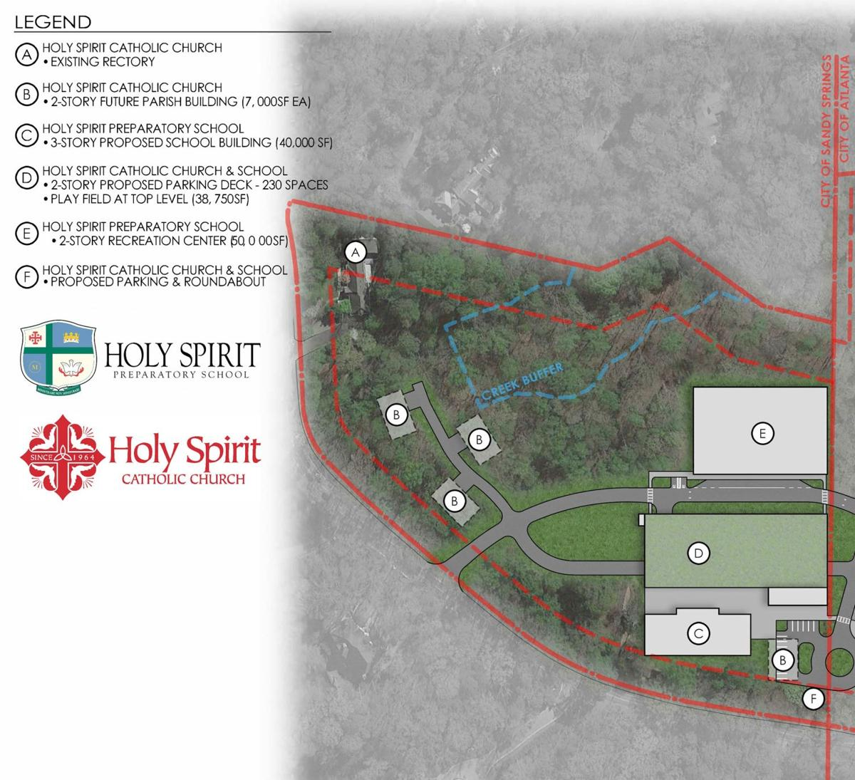 Holy Spirit unveils new plan for campus changes, hosting